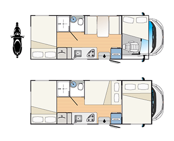 Plano de caravana