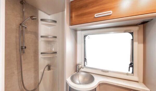 baño caravana
